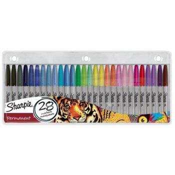 Sharpie Fine marcador 28 pieza(s) Multicolor Punta fina