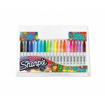 Sharpie Fine marcador 20 pieza(s) Multicolor Punta fina