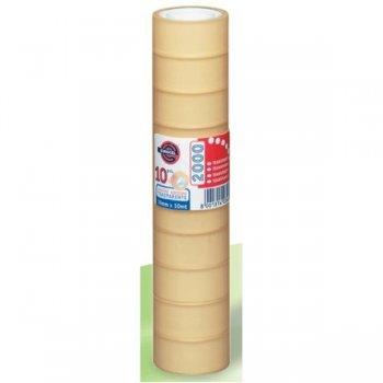 EUROCEL PP2000 cinta adhesiva 10 m Transparente 100 pieza(s)