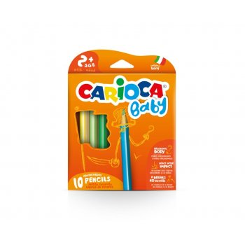 Carioca Baby Pencil laápiz de color 10 pieza(s) Multi