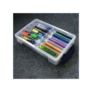 Really Useful Boxes 68504900 caja de almacenaje Transparente Rectangular De plástico