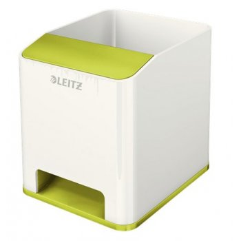 Leitz 53631064 porta lápices Verde, Blanco Poliestireno