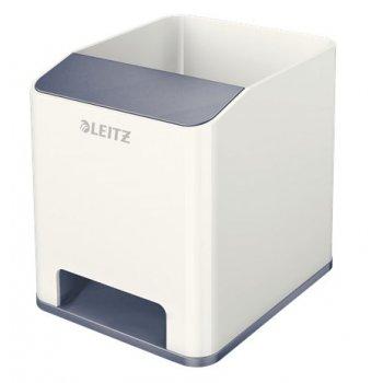 Leitz 53631001 porta lápices Blanco Poliestireno