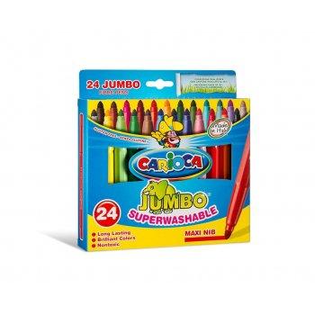 Carioca Jumbo rotulador Extra-grueso Multicolor 24 pieza(s)