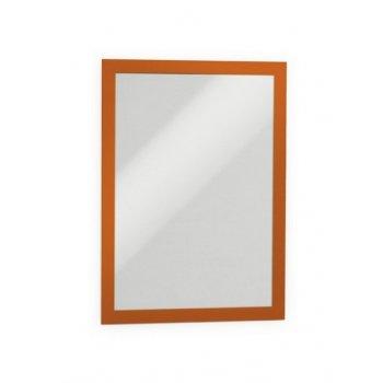 Durable DURAFRAME A4 marco magnético Naranja