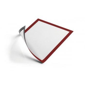 Durable DURAFRAME marco magnético A4 Rojo