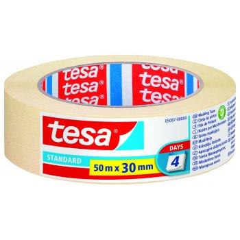 TESA Nastro in carta adesivo 30 mm x 50 m cinta adhesiva Beige Papel 1 pieza(s)