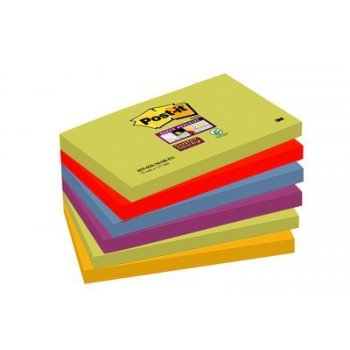 Post-It 655-6SS-MAR-EU nota autoadhesiva Rectángulo Multicolor 90 hojas