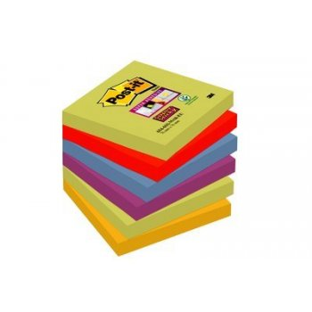 Post-It 654-6SS-MAR-EU nota autoadhesiva Plaza Multicolor 90 hojas