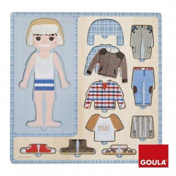 Goula To Dress A Boy Puzzle 10 pcs Rompecabezas de figuras 10 pieza(s)