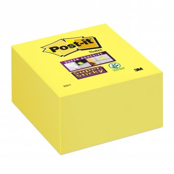 Post-It 2028-S nota autoadhesiva Plaza Amarillo 350 hojas