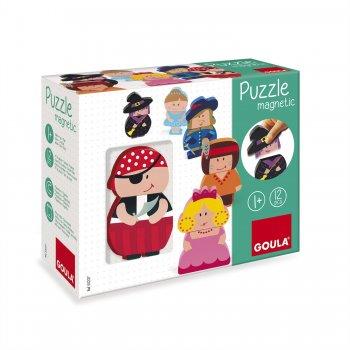 Goula Magnetic Characters Puzzle Rompecabezas de figuras 2 pieza(s)