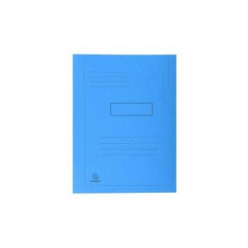 Exacompta 445006E carpeta A4 Caja de cartón Azul