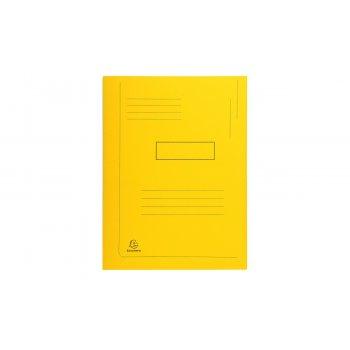 Exacompta 445009E carpeta A4 Caja de cartón Amarillo