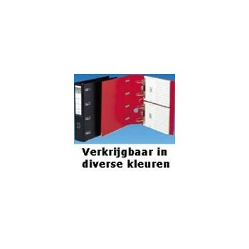 Elba Lever Arch File with 2 Mechanisms Rado 75mm, PVC Black A4 Negro