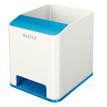 Leitz 53631036 porta lápices Azul, Blanco Poliestireno