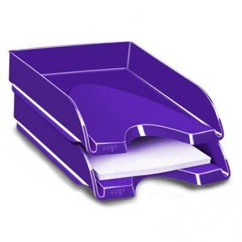 CEP Gloss bandeja de escritorio Poliestireno Púrpura