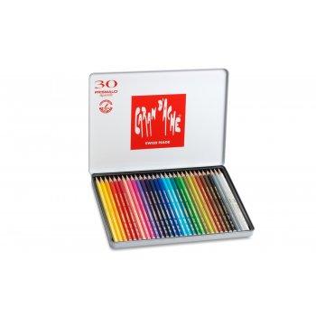 Caran d-Ache 999.330 laápiz de color 30 pieza(s) Multicolor