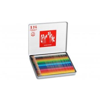 Caran d-Ache 999.318 laápiz de color 18 pieza(s) Multicolor