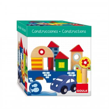 Goula Construction Pack 41 pieces