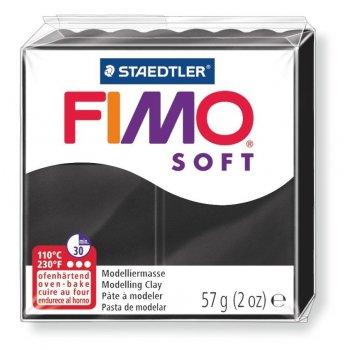 Staedtler FIMO 8020 Arcilla de modelar Negro 57 g 1 pieza(s)