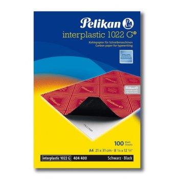 Pelikan Interplastic 1022G papel de carbón 100 hojas A4