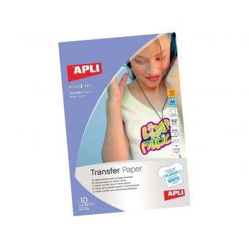 APLI 584128 papel transfer para tejido Inyección de tinta