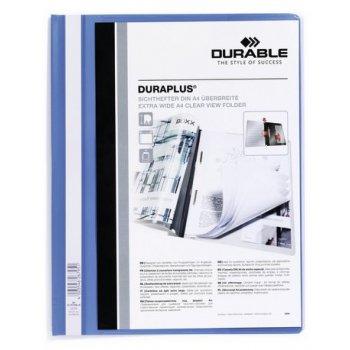 Durable DURAPLUS A4 Azul, Transparente