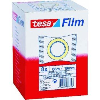 TESA 57226 cinta adhesiva 66 m Transparente 8 pieza(s)