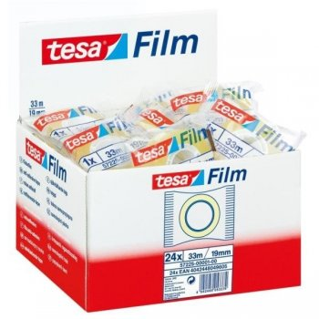 TESA Film Standart 19mm x 33m cinta adhesiva Transparente