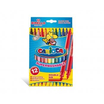 Carioca Birello rotulador Fino Medio Multicolor 12 pieza(s)