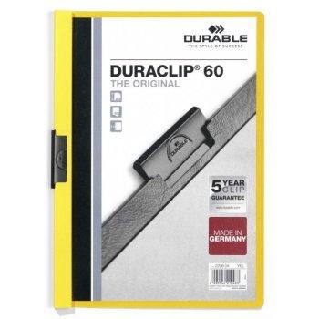 Durable DURACLIP 60 A4 Amarillo
