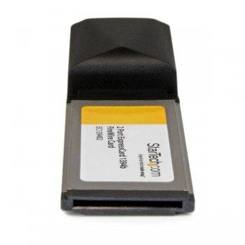 StarTech.com Adaptador Tarjeta FireWire 800 de 2 Puertos 9 pines ExpressCard 34 34mm 1394b