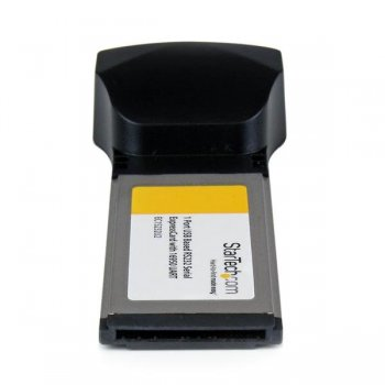 StarTech.com Tarjeta Adaptadora ExpressCard 34 de 1 Puerto Serie DB9 UART 16950 RS232 Express Card 34mm - Basada en USB