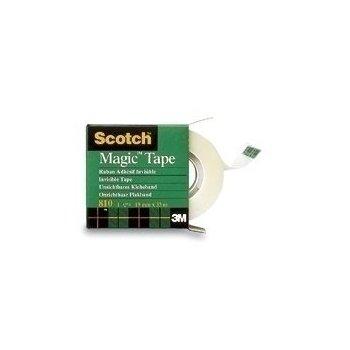 Scotch Magic Tape 810, 19mmx66m cinta adhesiva 66 m