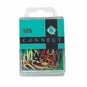 Connect Paper clips Colour 26 mm 125 pieces sujetapapel