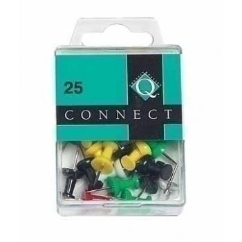 Connect Push Pins 25 pieces Multicolor