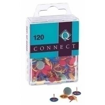 Connect Pins 120 pieces Colour Multicolor