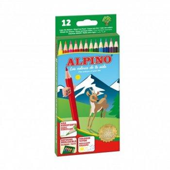 Alpino AL010654 laápiz de color 12 pieza(s) Multicolor