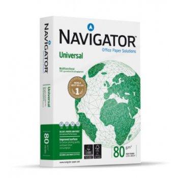 Navigator UNIVERSAL papel para impresora de inyección de tinta A4 (210x297 mm) Seda Blanco