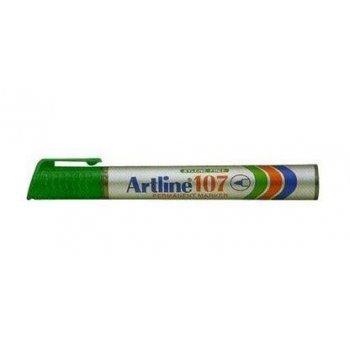 Artline 107 marcador permanente Verde 1 pieza(s)