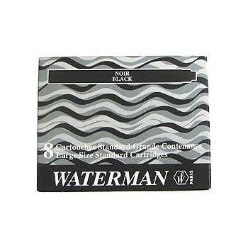 Waterman S0110850 Recambio de bolígrafo Negro 8 pieza(s)