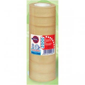 EUROCEL PP2000 cinta adhesiva 33 m Transparente 8 pieza(s)