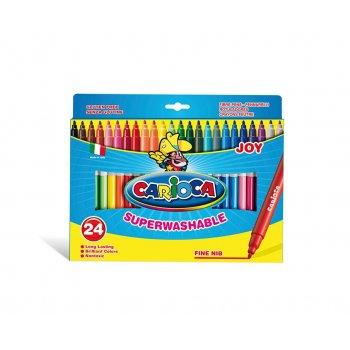 Carioca Joy rotulador Fino Multicolor 24 pieza(s)