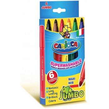 Carioca Jumbo rotulador Extra-grueso Multicolor 6 pieza(s)