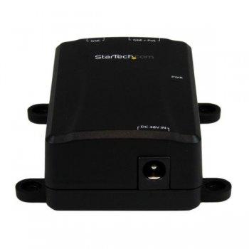 StarTech.com Inyector PoE+ Midspan de 1 Puerto Gigabit - 802.3at y 802.3af