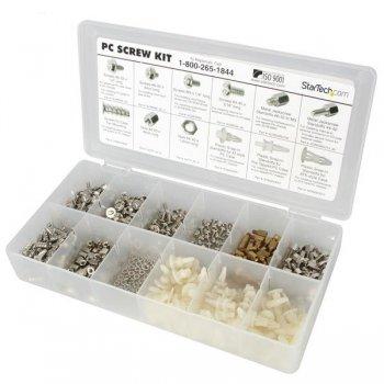 StarTech.com Kit de Tornillos para PC Deluxe - Tornillos, Tuercas y Separadores
