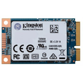 Kingston Technology UV500 unidad de estado sólido mSATA 240 GB Serial ATA III 3D TLC