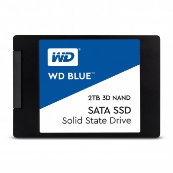 "Western Digital Blue 3D unidad de estado sólido 2.5"" 2048 GB Serial ATA III"