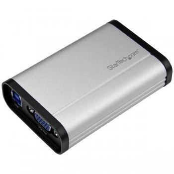 StarTech.com Capturadora de Vídeo USB 3.0 a VGA - 1080p 60fps - Aluminio